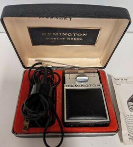 Vintage Remington 200 Selector Triple Action Cord Shaver Works Model B-Y 1982