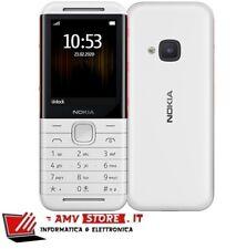 "Nokia 5310 2020 2.4"" White / Red Bianco / Rosso Dual Sim Nuovo 24 Garanzia"