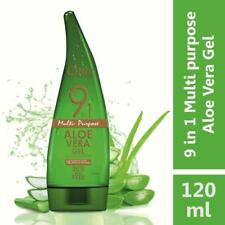 Qraa 9 in 1 MULTI PURPUSE Aloe Vera Gel, 120 ml X 2 PACK IN SAFE PACKING