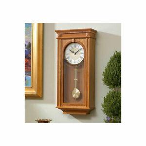 NEW Bulova Clocks C4419 Manorcourt Chiming Indoor Decorative Pendulum Clock