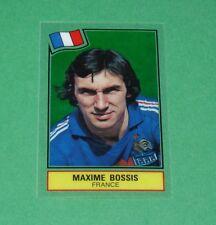 MAXIME BOSSIS FRANCE BLEUS PANINI FOOTBALL SUPERSTARS 1984