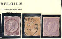 BELGIUM 57-59 OG H M/M USED UNUSED $93 SCV COLLECTION LOT