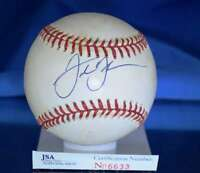 Frank Thomas Jsa Certed American League Autograph Baseball Authentic Signed