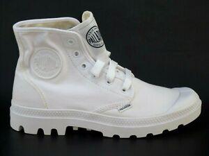 Palladium Blanc hi 72886154 Mens Shoes White Fabric Casual Boots Hiking SZ 6.5