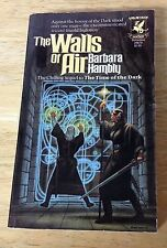 The Walls of Air Vol. 2 The Darwath Trilogy by Barbara Hambly (1983, Paperback)