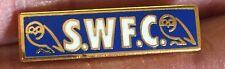 Sheffield Wednesday pequeña barra azul Insignia Pin Esmalte