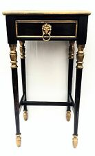 Empire Antique furniture vintage nightstand side table chic Country French