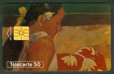 TELECARTE 50 UNITES  EN 700  FEMMES DE TAHITI  GAUGIN   VIDE