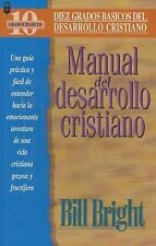 Manual Del Maestro - A Handbook for Christian Maturity by Bright (2000,...