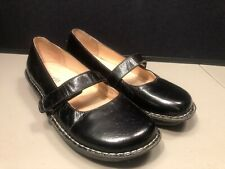 Womens Alegria Size 40 Black Patent Leather Mary Janes