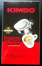 108 Cialde Caffè KIMBO Espresso Napoletano Coffee Pod