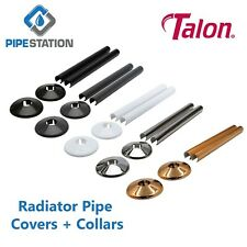 Talon Snappit 15mm Radiator pipe covers + collars 2 pk Express post-Any colour!
