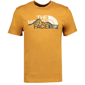 The North Face Mountain Lines T-Shirt Timber Tan