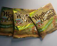 Caramel Apple Filled Candies Werthers Original Hard Candy 3 Pk