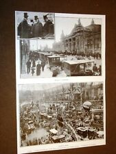 Automobilismo Parigi 12 novembre 1907 10° Salone dell'Automobile al Grand Palais