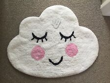 'SWEET DREAMS' CLOUD NURSERY / CHILDRENS BEDROOM RUG MAT MODERN PLAYROOM CARPET
