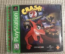 Crash Bandicoot 2: Cortex Strikes Back (Sony PlayStation 1) Complete w/ Manual