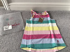 Joules Girls Striped Vest Top Age 7-8 - Brand New With Tag