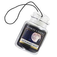 Yankee Candle Car Jar Ultimate Odor Neutralizing Air Freshner, MidSummer's Night