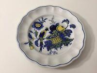 "Vintage Spode Copeland Blue Bird Salad Plate, Made in England, 7 1/2"" Diameter"