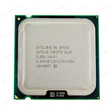Intel Core 2 Quad Q9550 2.83GHz/12M/1333 4 Core LGA 775 CPU + FREE Thermal paste