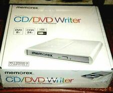Memorex Slim External DVD Writer 8x (dvd DL 6x CDR 24x) USB Powered
