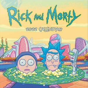 Rick And Morty 2022 Calendar Official Merchandise Christmas Gift Xmas Present