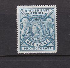 Kenya Uganda Tanganyika BEA 1897 1R Grey-blue Mint Hinged