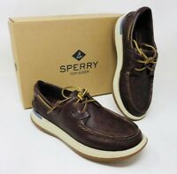 Sperry Men's Caspian Boat Shoe Leather Cocoa, Pick A Size, MSRP $120