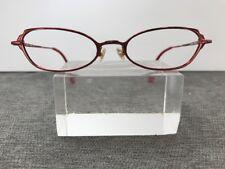 Bebe Eyeglasses Tease Lipstick 49-17-135 Red Flex-Hinge Readers 6245