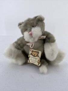 Vintage Boyds Bears Callaway Flat Cat Bears in the Attic With Tag Kitty Plush