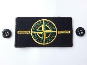 STONE ISLAND Patch / Badge mit zwei Knöpfen