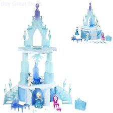 Disney Frozen Little Kingdom Elsa's Magical Rising Castle Childrens Play Set