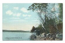 Divided back, A Glimpse of Lake Sunapee N H, Atkinson News Co, # 58S, 1911