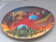 Vintage DUNE 1984 Movie Large paper Plates -8 - Birthday Party Supplies NOS