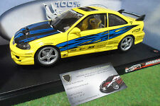 HONDA CIVIC Jaune super street au 1/18 HOT WHEELS 57305 voiture miniature