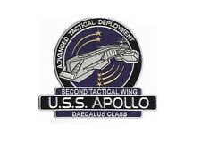 Stargate Atlantis ecusson USS Apollo Daedalus class patch