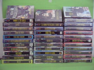 35 VHS SERIE AMERICANA. CINEMA UNITA'