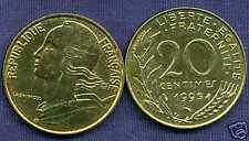 20 CENTIMES marianne   1995  NEUVE