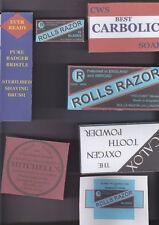 WW1 BRITISH HYGIENE BOXES SET (REPRO)