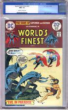 World's Finest Comics #222 CGC NM+ 9.6 Monterey Batman Superman