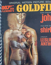 for the Goldfinger Sean Connery (James Bond) Soundtrack fan Album Cover Notebook