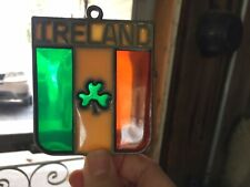 Glass Sun Catcher, Ireland Shamrock