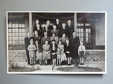 R&L Photo: Circa 1930's Group Photo, Reginald Piper Holton Road Barry Wales