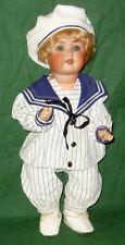 Vieja porcelana cabeza muñeca schützmeister & quendt Baby muñeca muñecas Dolls poupee