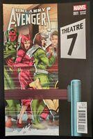UNCANNY AVENGERS #1 variant (2015 MARVEL Comics) ~ VF/NM Book