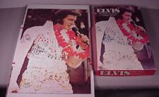 Vintage Elvis Presley Jigsaw Puzzle, 200 pc. 1977  complete in box 11 x 17