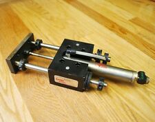 Bimba Stainless Pneumatic Cylinder with Bimba Air Slide Model T-094-B - USED