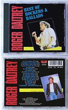 ROGER DALTREY Best Of Rockers & Ballads . 1991 Polydor CD TOP