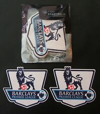 2 Vinyl Sporting id Barclays English Premier League Shirt Sleeve Arm Patches